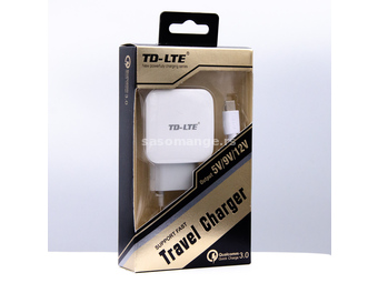 PUNJAČ TD-LTE FT51 QUICK CHARGE POWERFOOL
