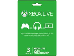 Xbox Live 3 Months GOLD Subscription