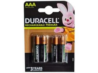 Duracell 750mAh AAA R3 MN2400, PAK4 CK,punjive NiMH baterije (rechargeable Duralock StayCharged 3g