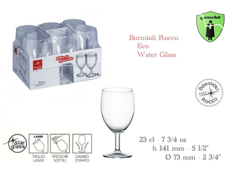 Eco Water Glass 6/1