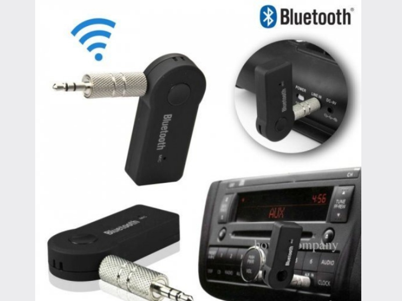 Bluetooth 3.5mm AUX Audio Stereo Music Home MP3 Car Receiver