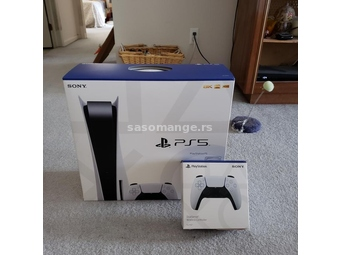 Sony playstation 5 disc varsion (2 controller)